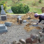 三次市西酒屋町にて、お墓の整理をしました!!