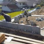 三次市西酒屋町にて、墓地の石積み工事をしました!!
