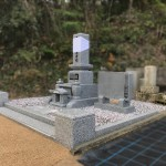 三次市三良坂町にて、旧墓地整理とお墓の据え付けをしました!!