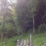 三次市吉舎町にて、お客様の墓地を確認してきました!!