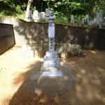 三次市甲奴町の共同墓地にて、合祀させていただきました!!