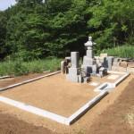 庄原市比和町の共同墓地にて、巻石工事をしてきました!!