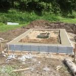 三次市にて、墓地の石積み(造成工事)をしました!