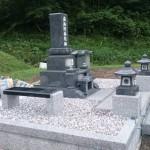 三次市にて、お墓(和型墓石)を据付けました!!