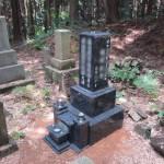 神石郡神石高原町にて、夫婦墓(和型墓石)を据え付けました!!
