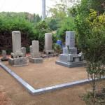 世羅郡世羅町にて、巻石工事とお墓の傾き直しをしました!!