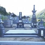 庄原市東城町にて、お墓(和型墓石)の据付けをしました!!