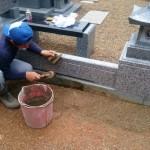 世羅郡世羅町にて、お墓のクリーニングをしました!!
