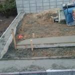 三次市甲奴町にて、墓地の石積み工事をしました!!