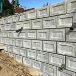 三次市和知町にて、護岸ブロック積みの基礎工事をしました!!
