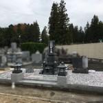 三次市南畑敷町にて、和型墓石を建てました!!