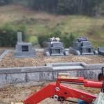 三次市西酒屋町にて、お墓の据え付けをしました!! その1