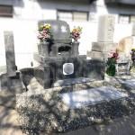 広島市安佐南区八木にて、お墓の基礎工事〜洋型墓石・手すりを設置しました!!