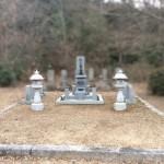 府中市上下町にて、追加文字彫刻〜お墓清掃をしました!!