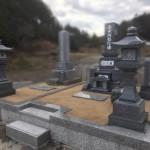 世羅郡世羅町にて、造成工事〜墓建てをしました!!