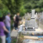 【新しく建立したお墓の開眼法要に立ち合わせていただきました。】